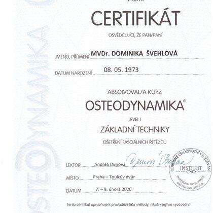 Osteodynamika I základní techniky lidi